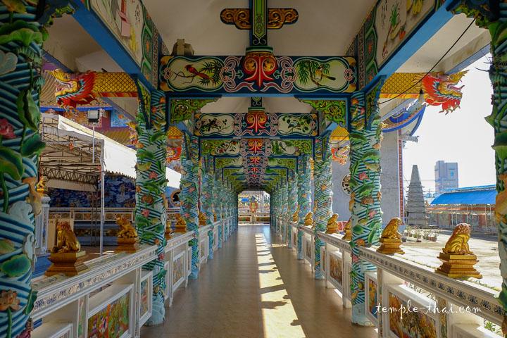 Corridor décoré