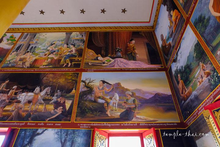 Vie du Bouddha en peinture