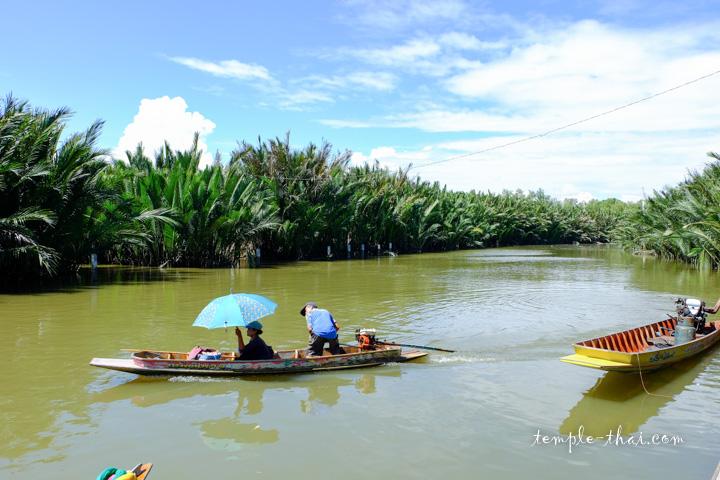 Pier in Samut Praka province