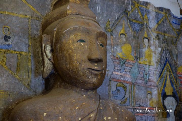 Visage d'un bouddha