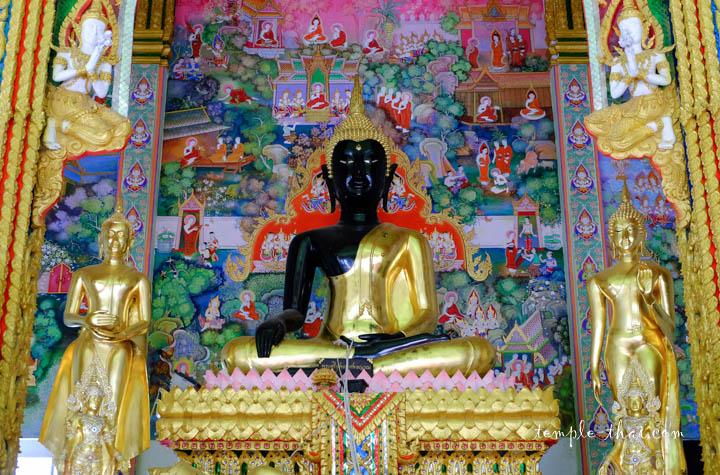 bouddha bicolore