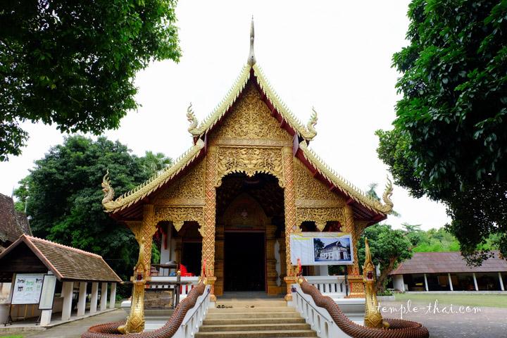 Wat Ubosot Chiang Mai