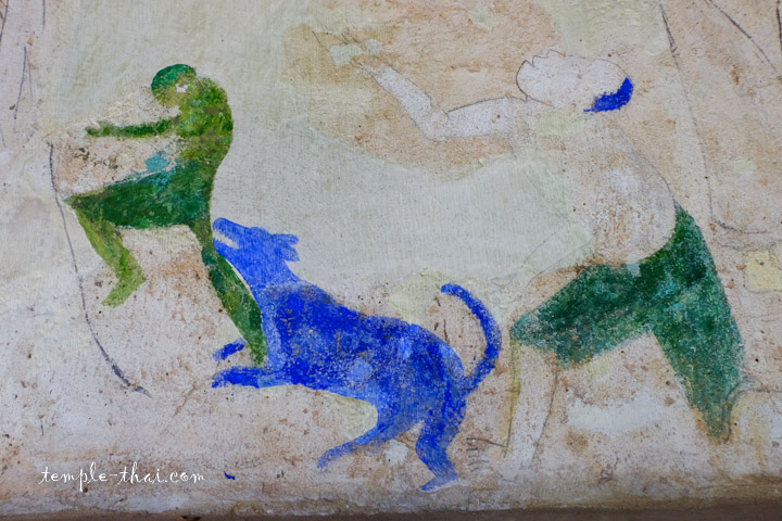 Peinture murale ancienne