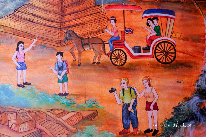 Peinture thaïe