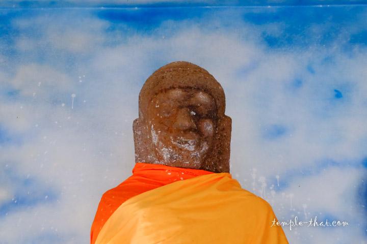 bouddha grès dvâravatî
