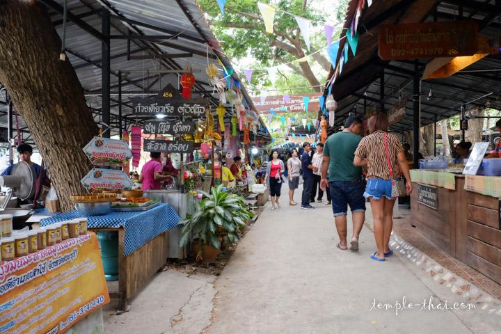 Marché Thaïlande