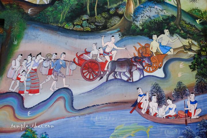 Peinture Nan Thaïlande