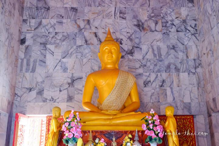 bouddha jaune