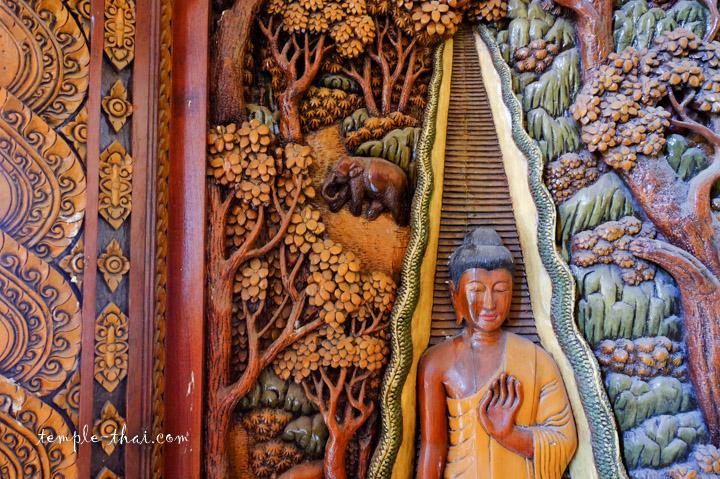 Bas-relief porte