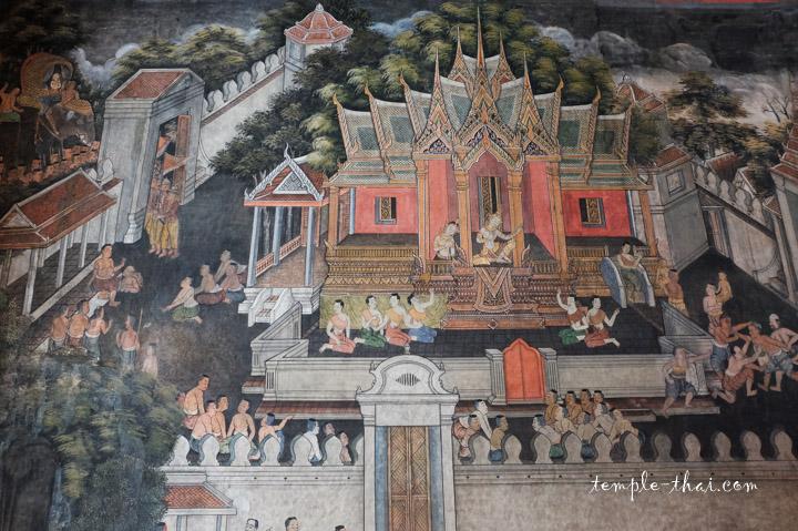 Peintures Ayutthaya