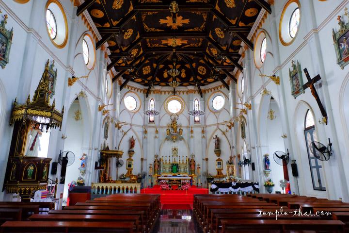 Cathédrale Thaïlande