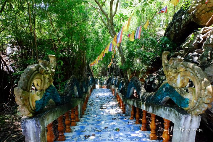 Escalier Thaïlande