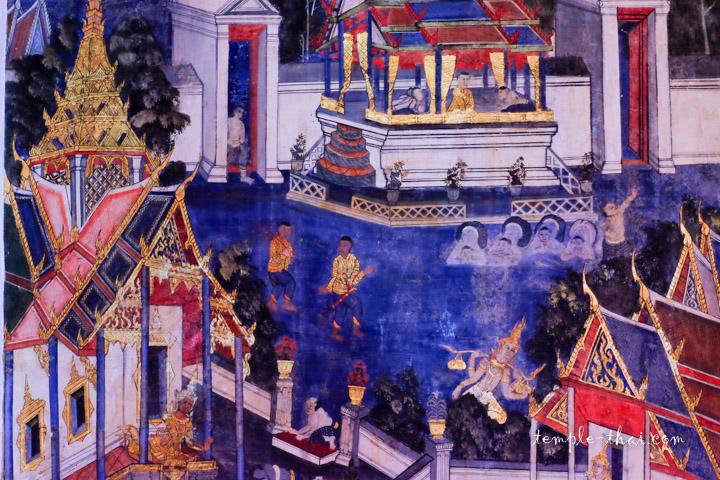 Peintures murales XIXe siècle