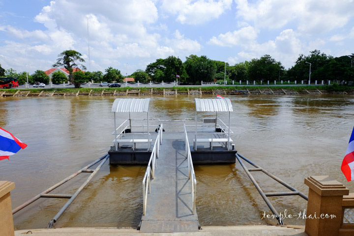 Fleuve Chao Phraya Ayutthaya