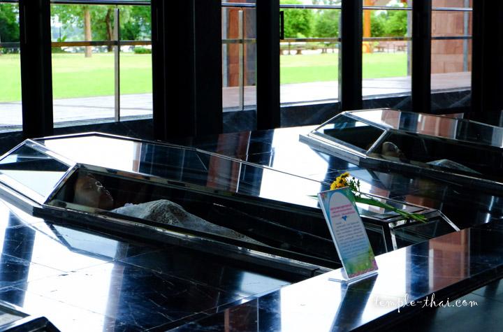 Cercueil transparent