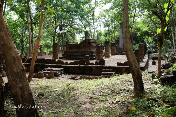 Wat Khao Phrabat Si Satchanalai