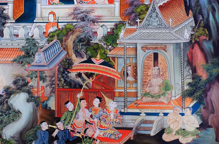 Peintures Thaïlande
