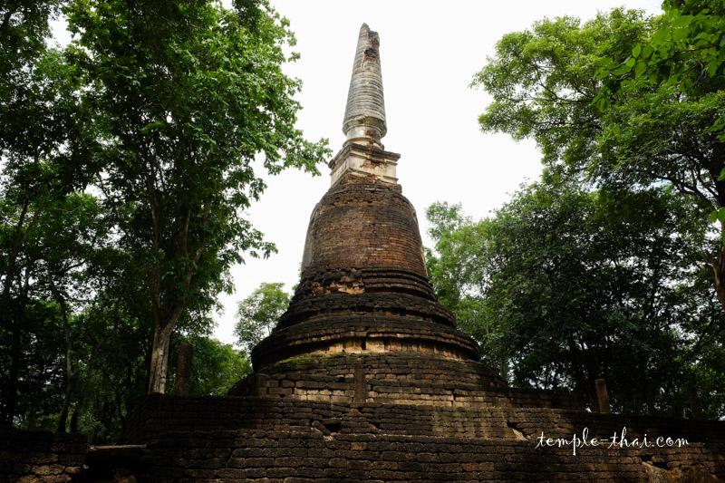 Stupa en forme de cloche