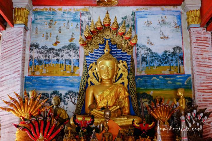 bouddha Mucalinda