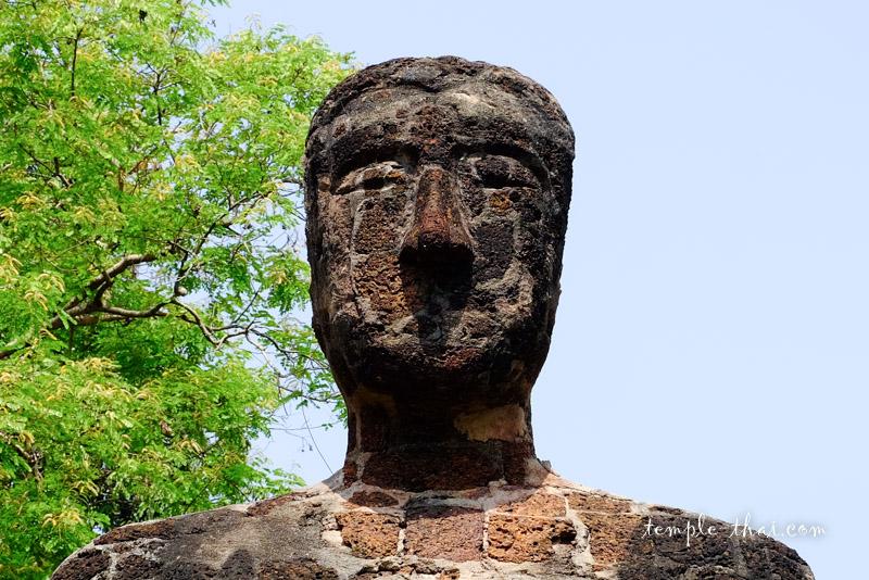 Visage bouddha