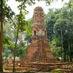 Wat Song Phi Nong Sankhaburi  วัดสองพี่น้อง สรรคบุรี